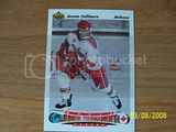 Jassen Cullimore Upper Deck World Juniors RC