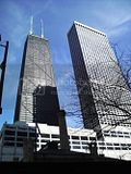 The Hancock Tower and Water Tower Place